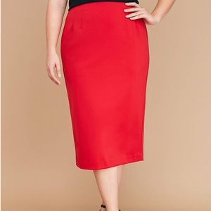 NWT Lane Bryant Pencil Skirt
